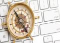 kompas, toetsenbord, transitiepartners